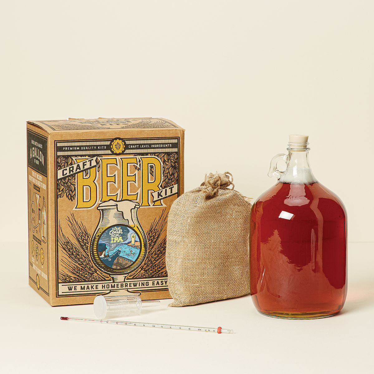 West Coast Style IPA Beer Brewing Kit | brew your own beer ...