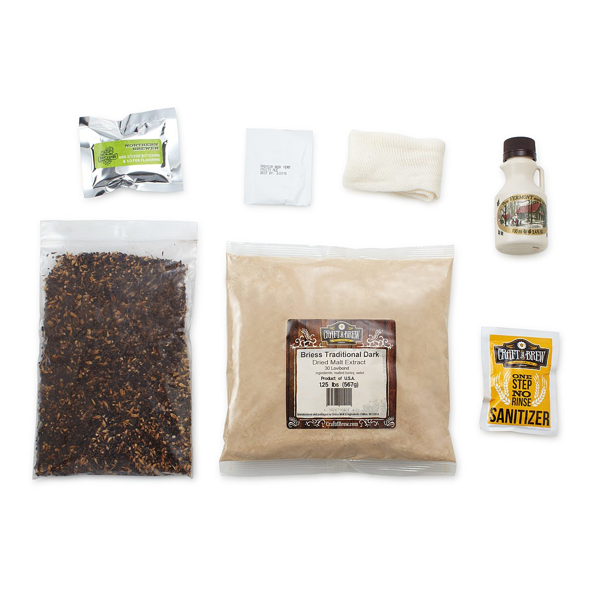 Vermont Maple Porter Beer Brewing Kit | brew your own beer ...