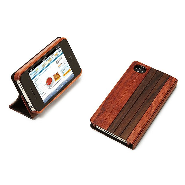 Aphotic Wood Book iPhone Case