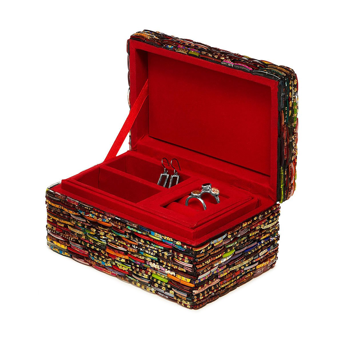 Bangle Jewelry Box handmade Indian jewelry box unique creative