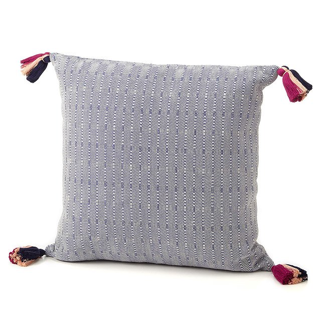 Hand-Stitched Guatemalan Pillow