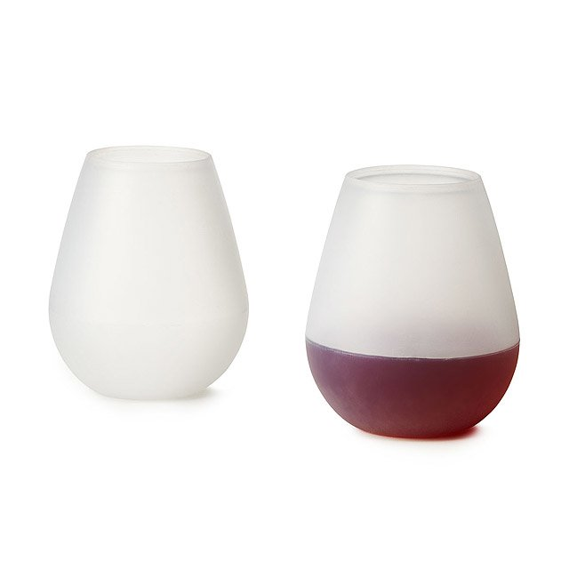 Silicone Wine Glasses - Set of 2