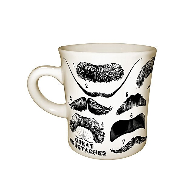 Great Moustaches Mug