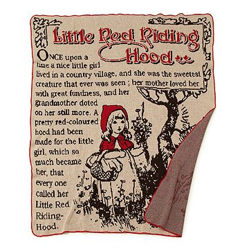 Little Red Riding Hood Blanket
