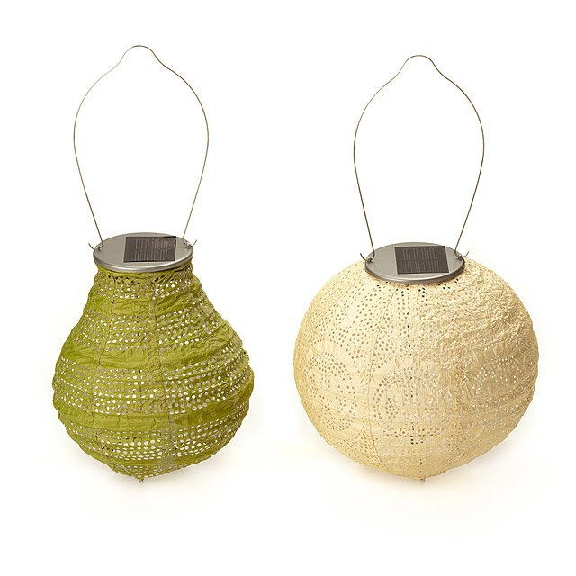 Soji Bulb and Globe Solar Lanterns