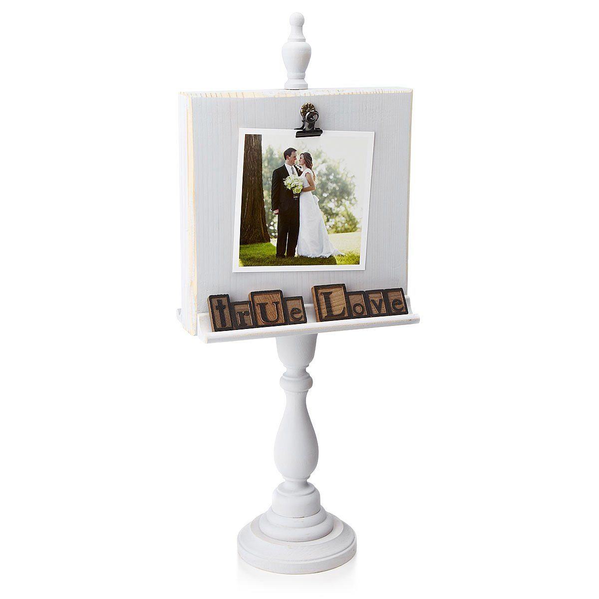 vintage nickel michaels pedestal picture frame