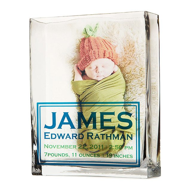 Birth Announcement Vase