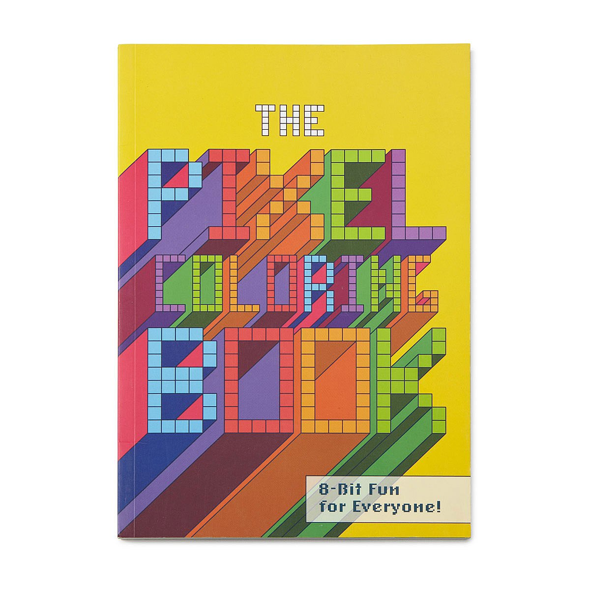 Pixel Coloring Book | color computer, modern book | UncommonGoods