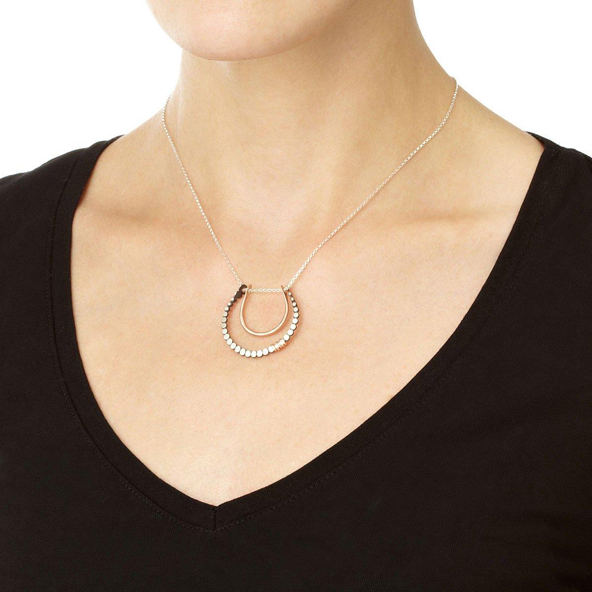 Horseshoe pendant good luck charm horseshoe uncommongoods horseshoe pendant 3 thumbnail aloadofball Gallery