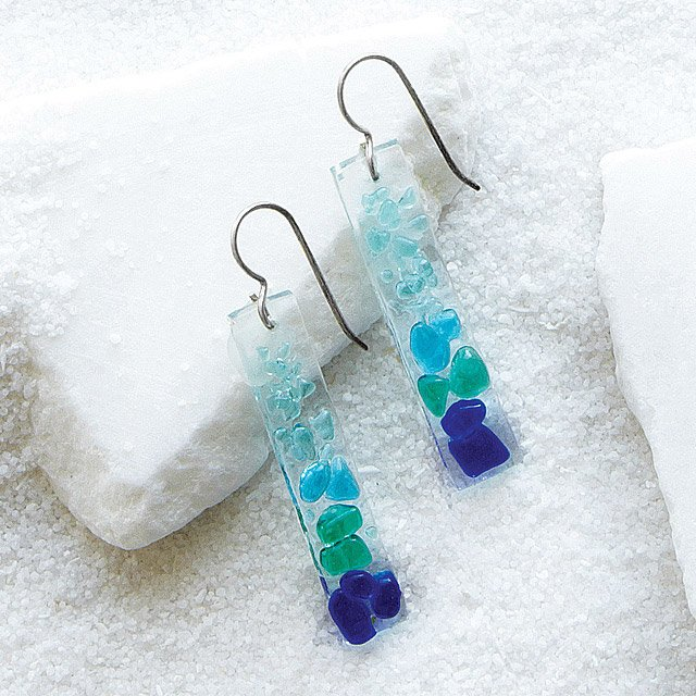 Shattered Glass Earrings
