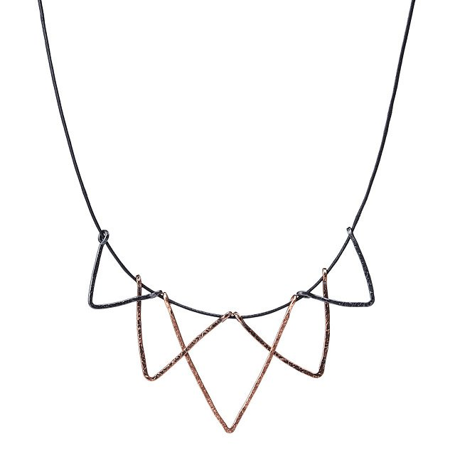 Copper Rays Necklace