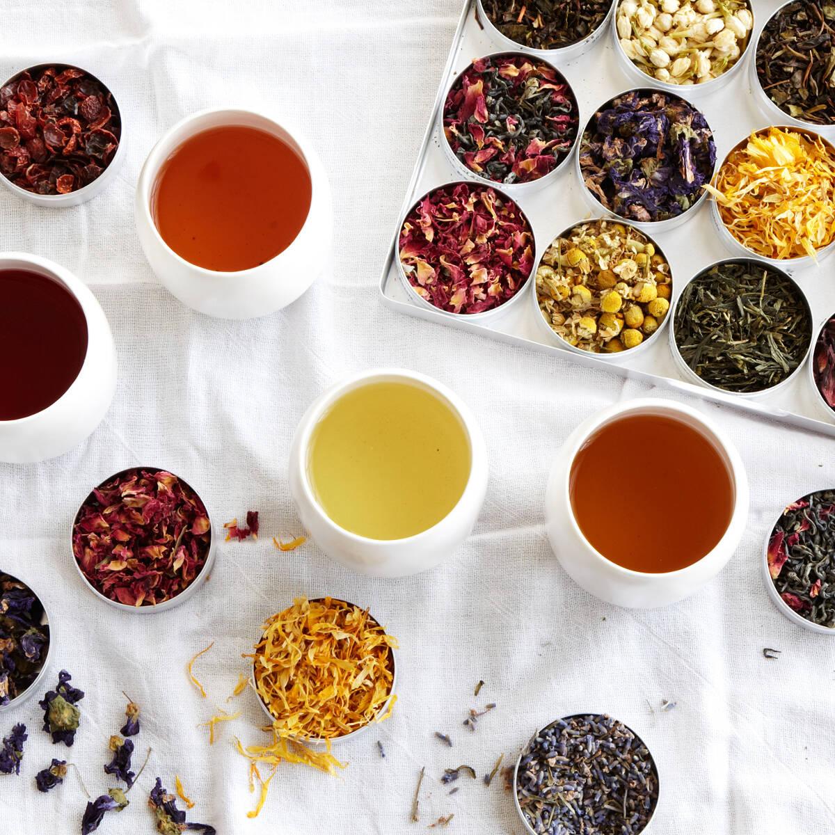 Blend gourmet herbal tea - Green Herbal Tea Kit 4 Thumbnail