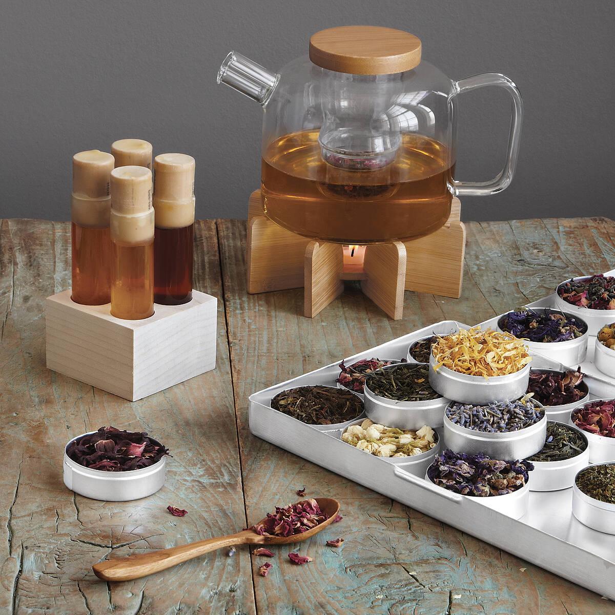 Blend gourmet herbal tea - Green Herbal Tea Kit 5 Thumbnail