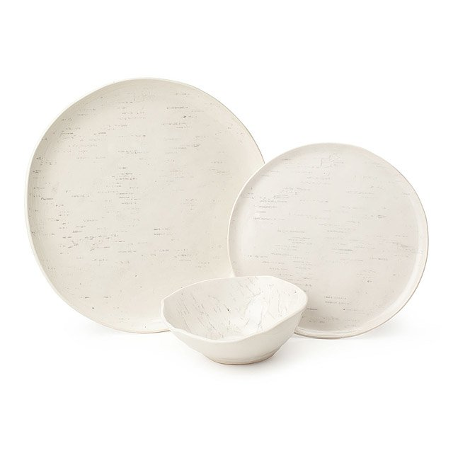 Birch Porcelain Dishware Collection