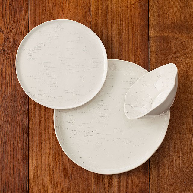 Birch Porcelain Dishware Collection 2