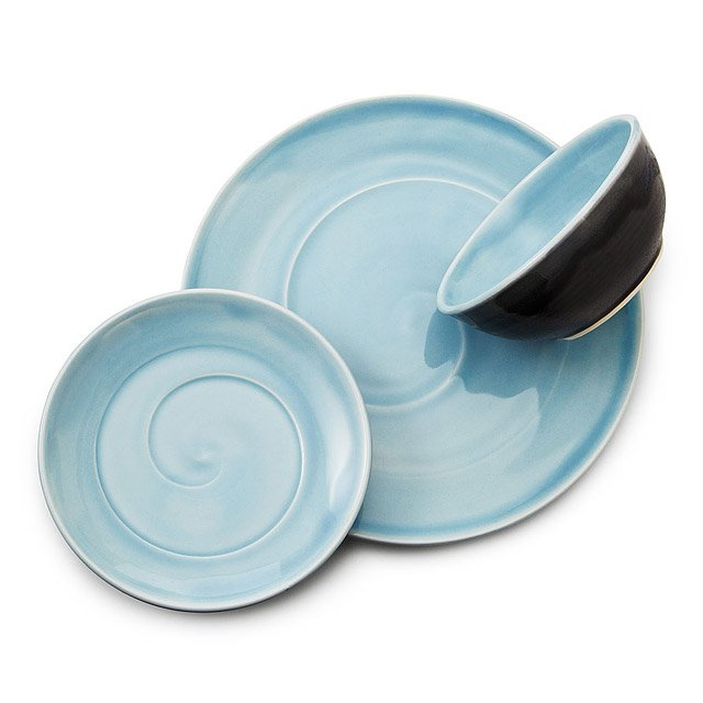 Classic Blue Porcelain Dishware Collection 2