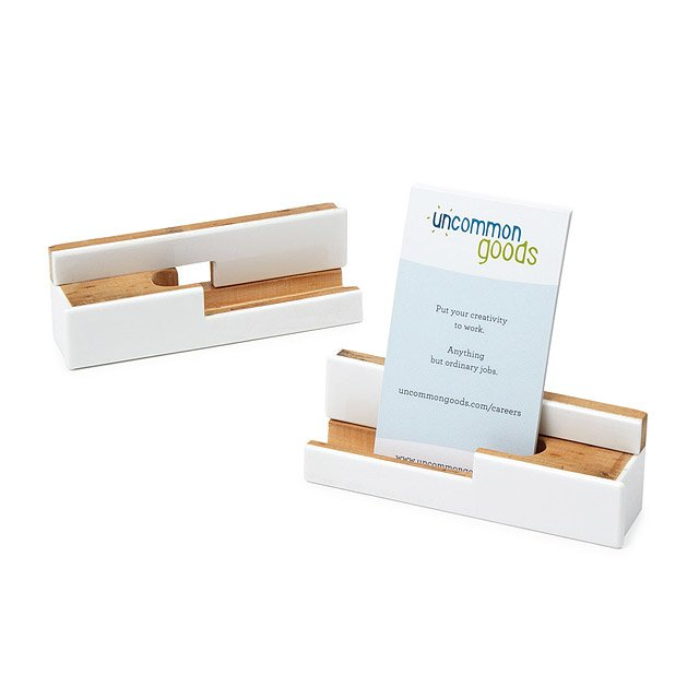 Piano Key Business Card Holder