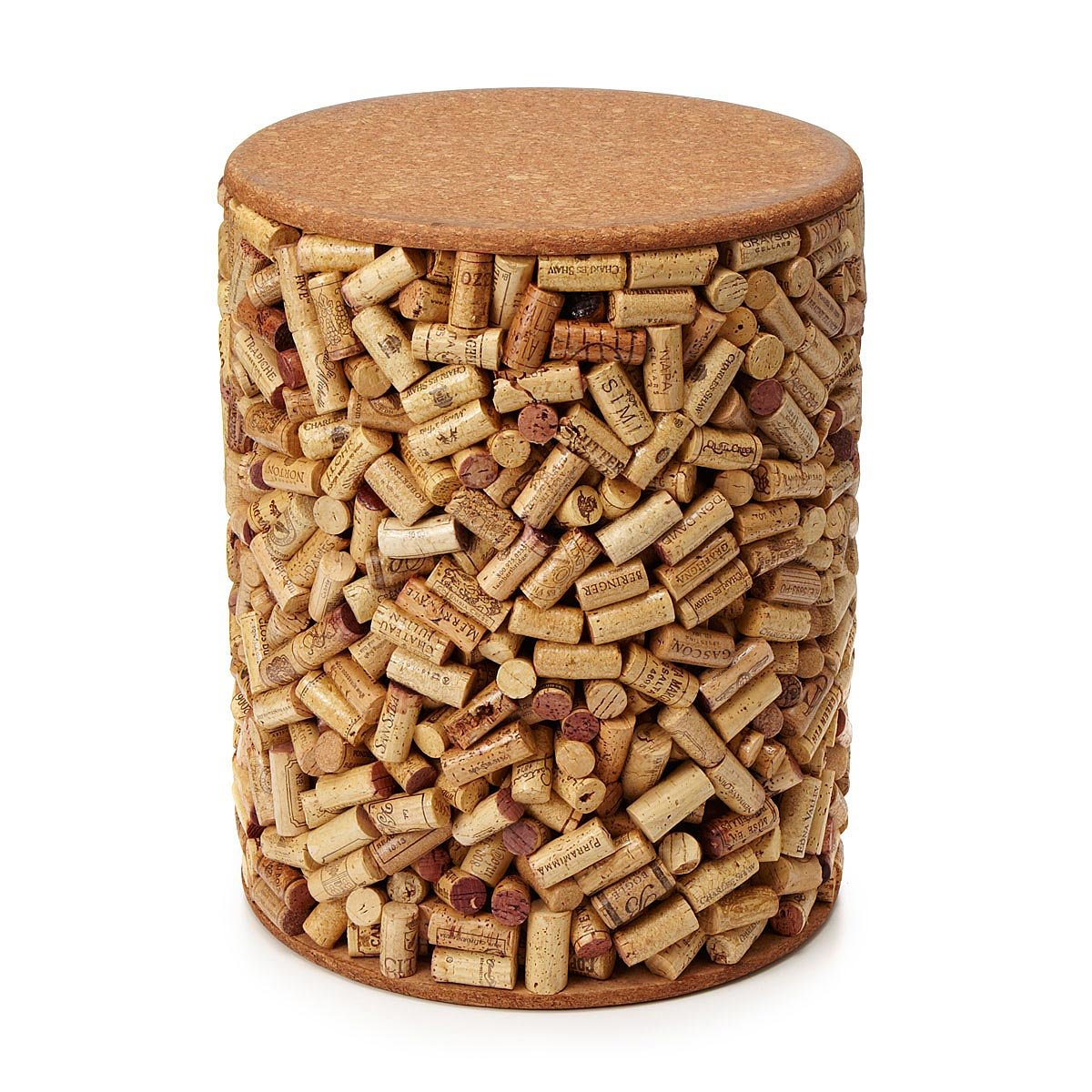 Wine Cork Table Design: Seating Or Side Table
