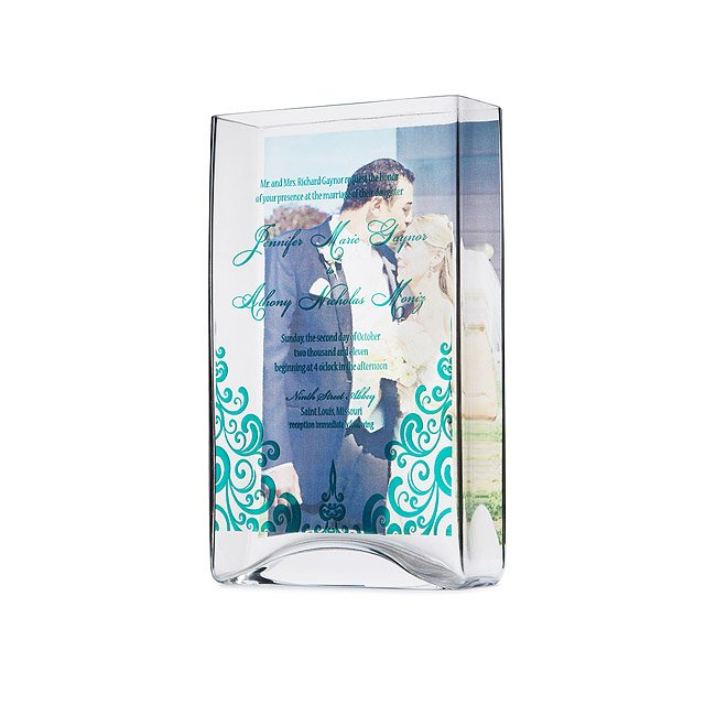 Invitation Photo Memory Vase