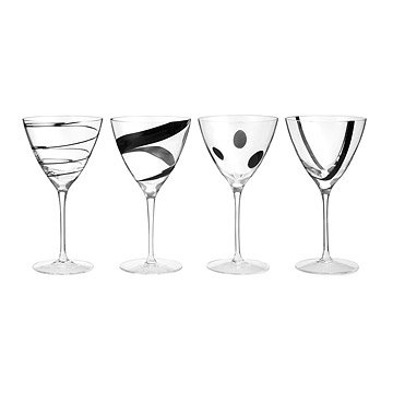 Jazz Wine Goblets - Set of 4