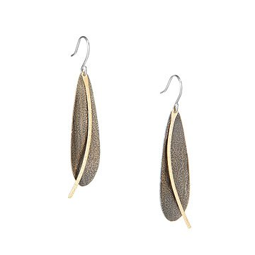 Golden Path Earrings