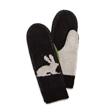 Hare to Be Different Mittens