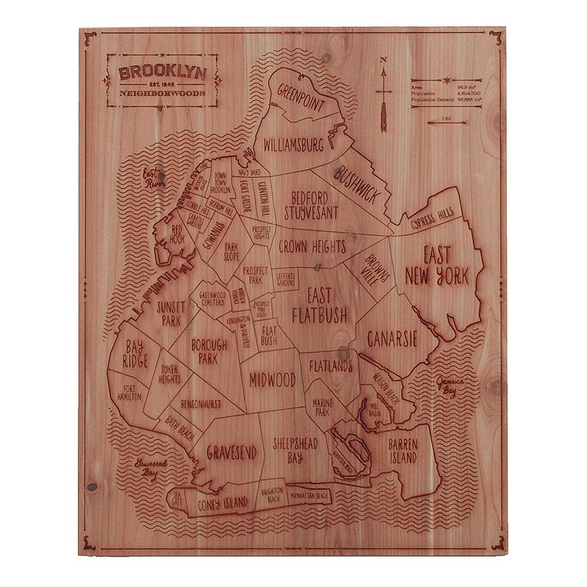 Unique wood gifts cool wooden gifts uncommongoods customizable neighborwoods negle Choice Image