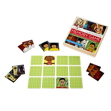 Fresh Faces Memory Game