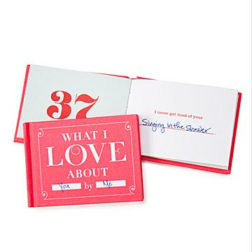 K'Mich Weddings - wedding planning - anniversary gift ideas - what I love about me book -  uncommongoods