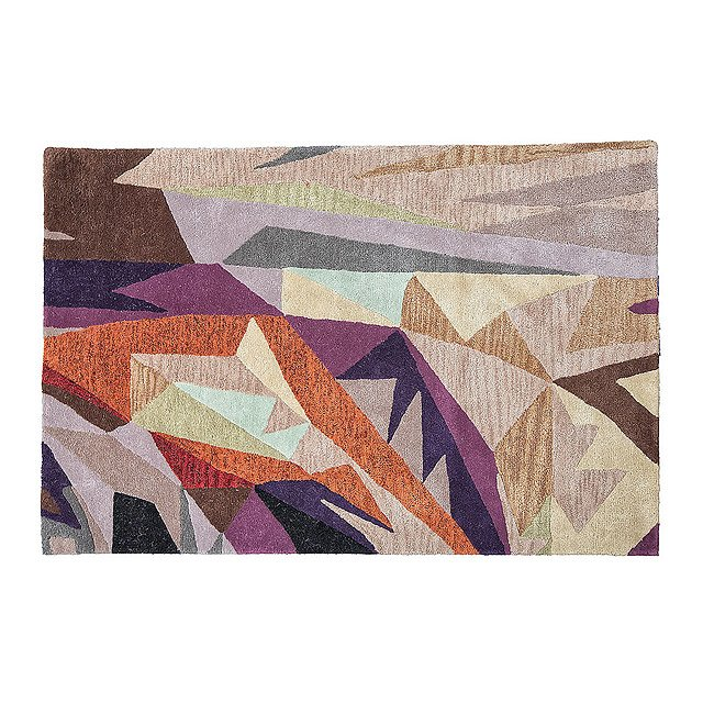 Abstract Geometry Rug
