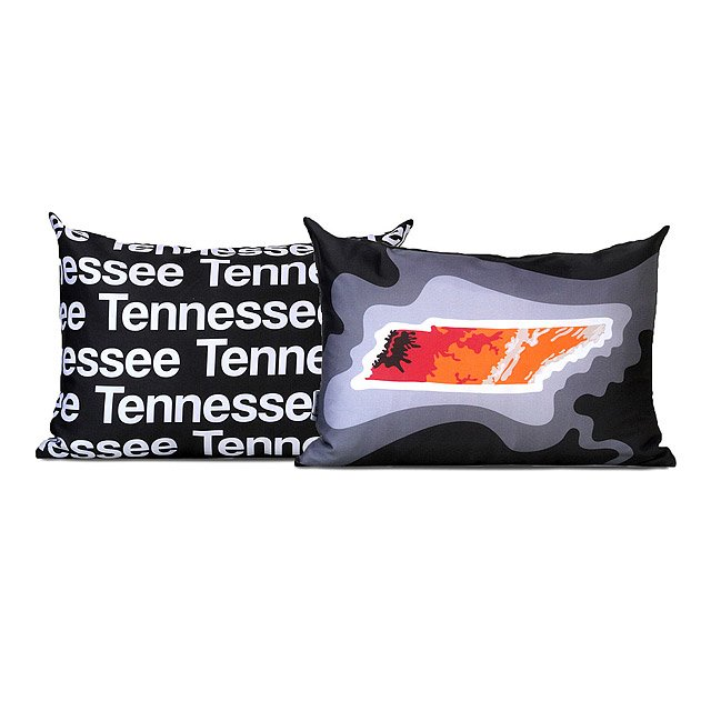 Topographical Map Pillows 4