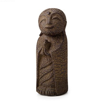 Smiling Jizo Garden Sculpture