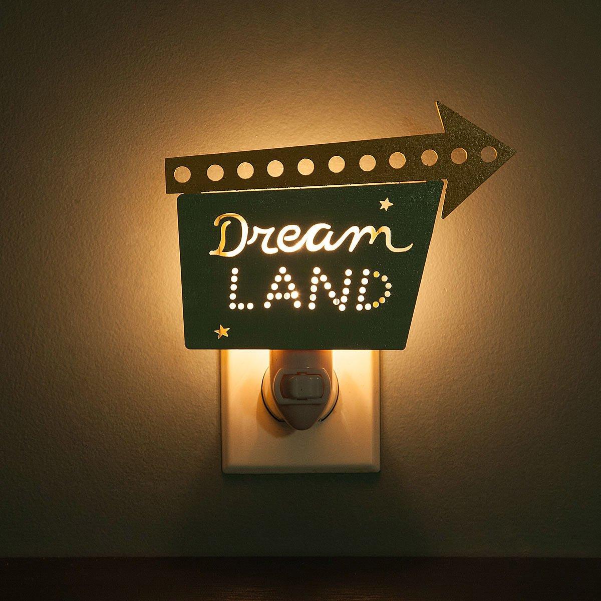 dreamland nightlight vintage nightlight retro nightlight diner. Black Bedroom Furniture Sets. Home Design Ideas