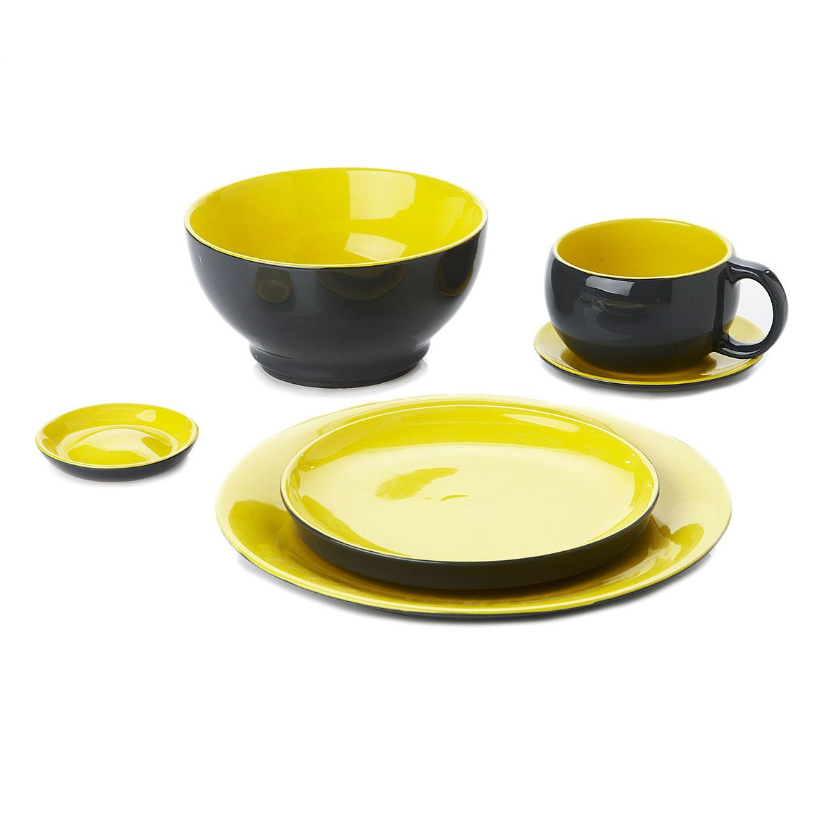 Stackable Dinner Set for One 2 thumbnail  sc 1 st  UncommonGoods & Stackable Dinner Set for One | nesting dishes stacking plates ...