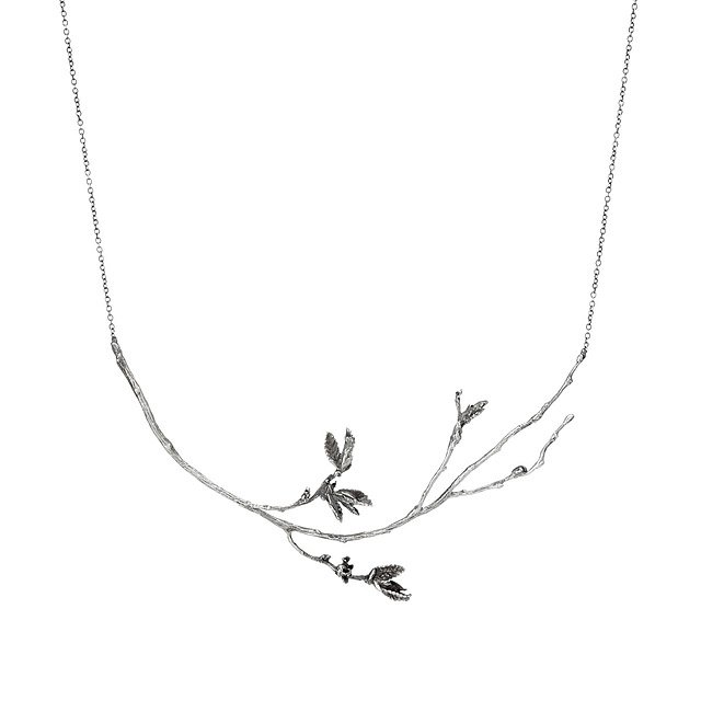A Tree Grows Necklace Tree Necklace Branch Handmade Brooklyn