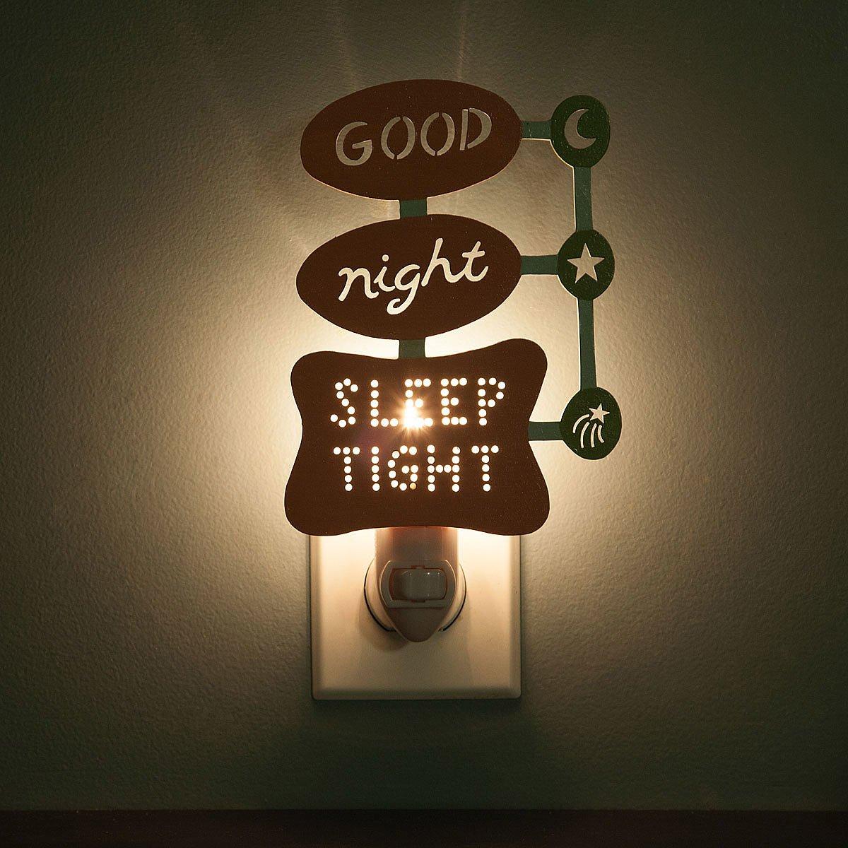 Awesome Retro Good Night, Sleep Tight Nightlight 2 Thumbnail Nice Ideas
