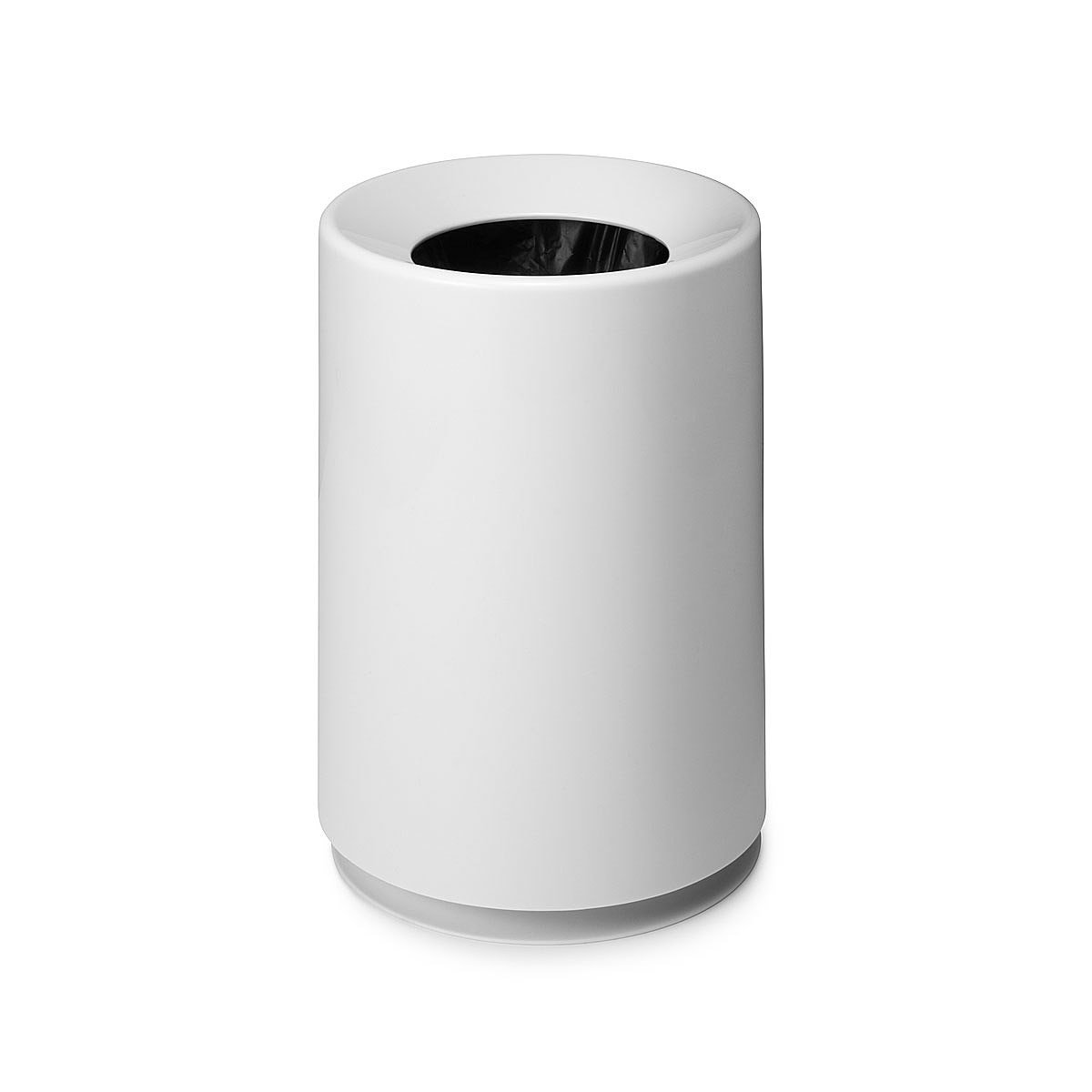 White Bathroom Garbage Cans classic tubelor trash can | decorative trash cans | uncommongoods