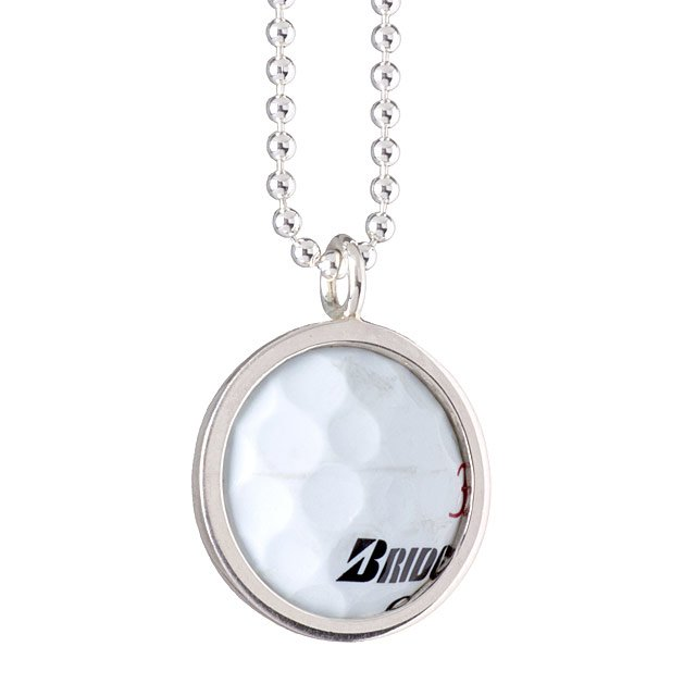 Tpc sawgrass golf ball necklace pga tour golf gifts for women tpc sawgrass golf ball necklace aloadofball Choice Image