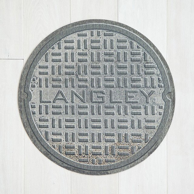 Personalized Manhole Cover Doormat & Personalized Manhole Cover Doormat | welcome mat personalized ...