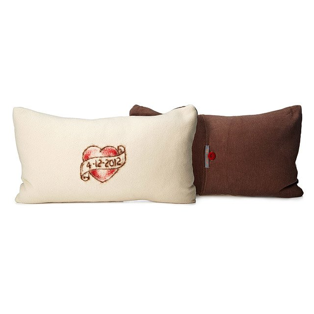 Handmade Custom Tattoo Heart Pillow