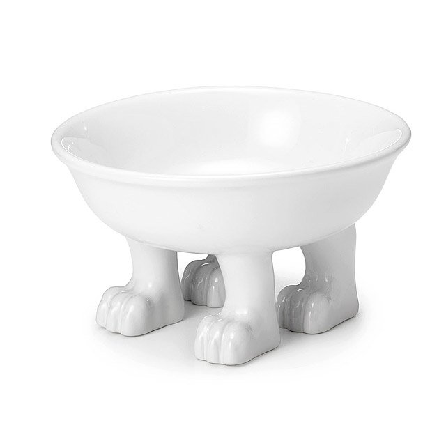 Footed Pet Bowl
