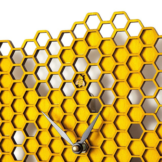 Busy Bee Wall Clock