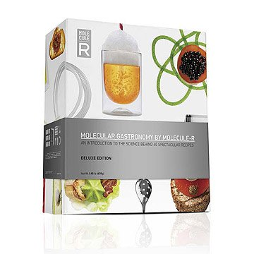 Deluxe Molecular Gastronomy Kit with Book