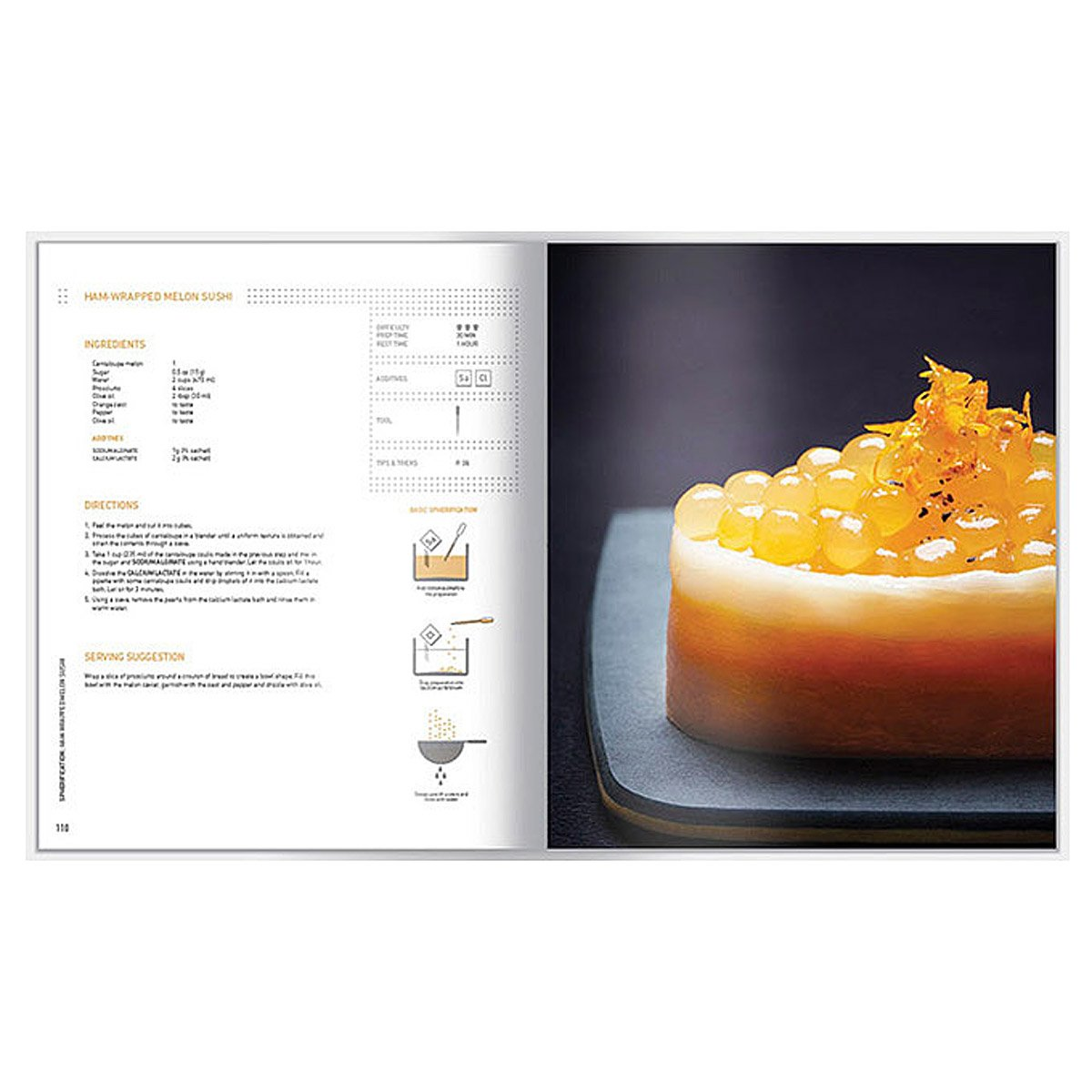 deluxe molecular gastronomy kit with book | cookbook, kitchen
