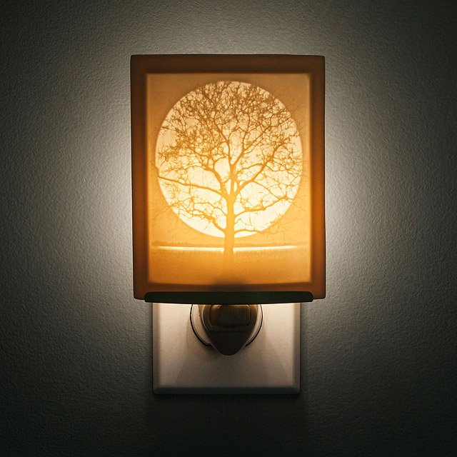 Midnight Moon Lithopane Nightlight
