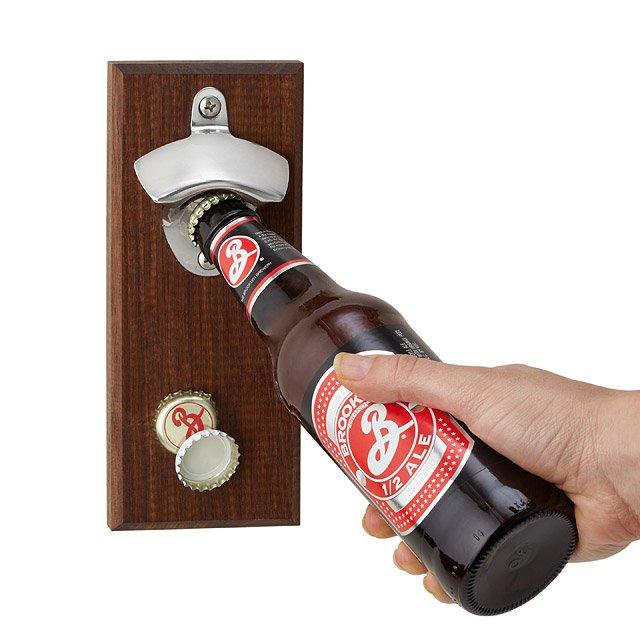 Magnetic Bottle Opener Bottle Cap Catcher Uncommongoods