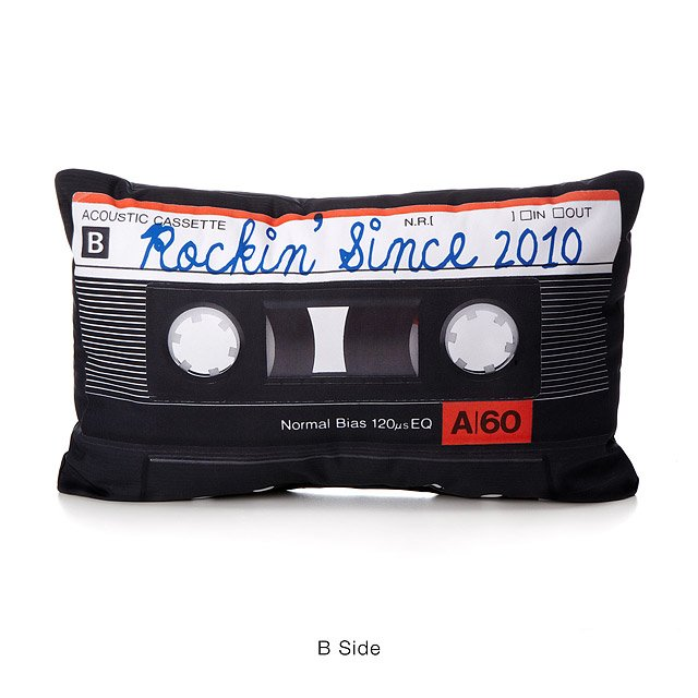 Personalized Mixtape Pillow