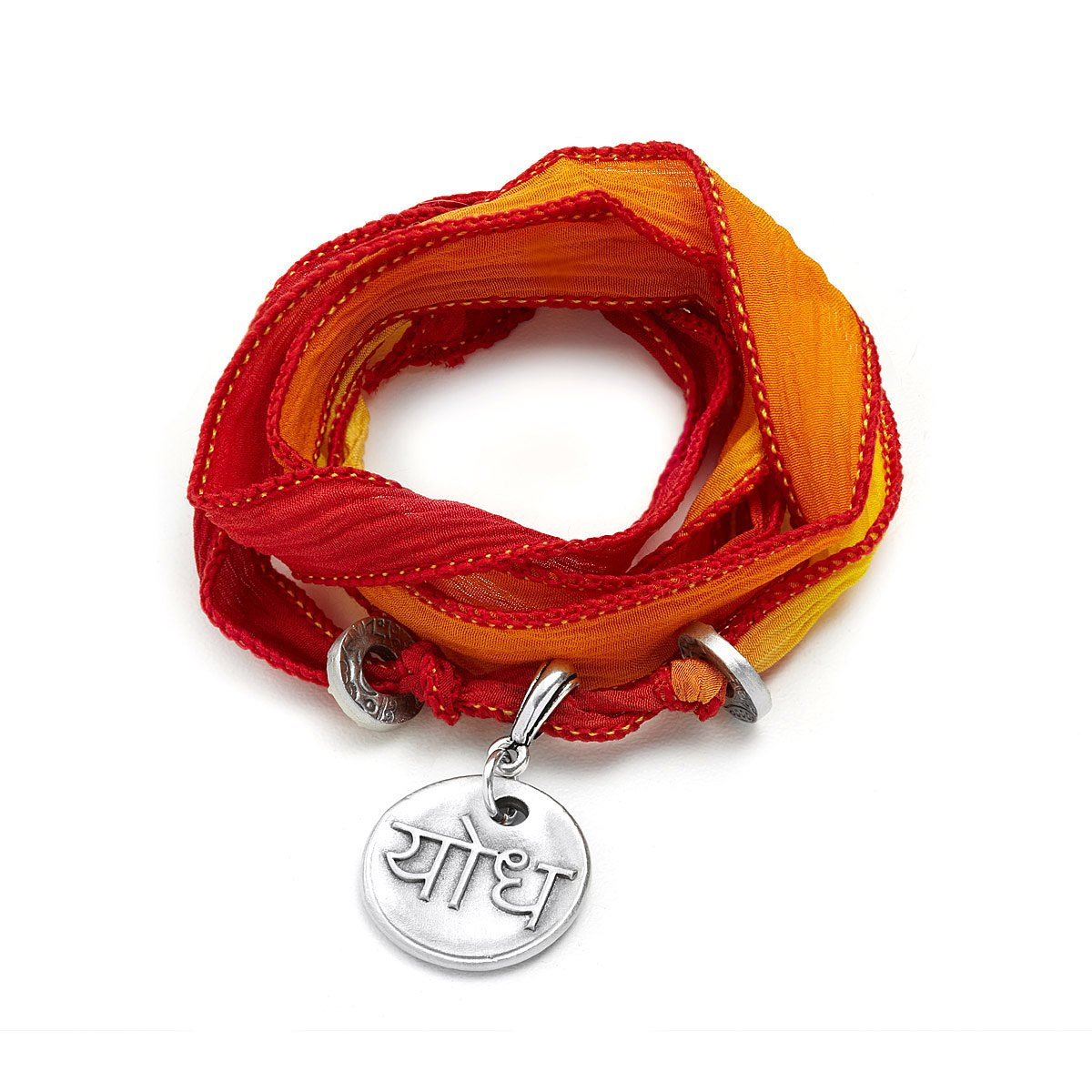 Silk Wrapped Soul Bracelet Warrior 1 Thumbnail