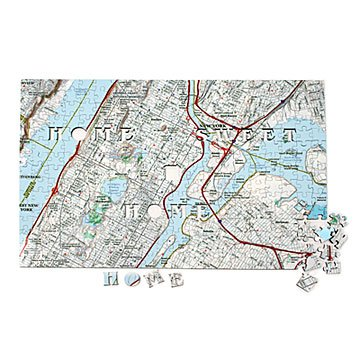 Custom satellite map puzzle custom jigsaw puzzle wooden map custom street map puzzle gumiabroncs Choice Image