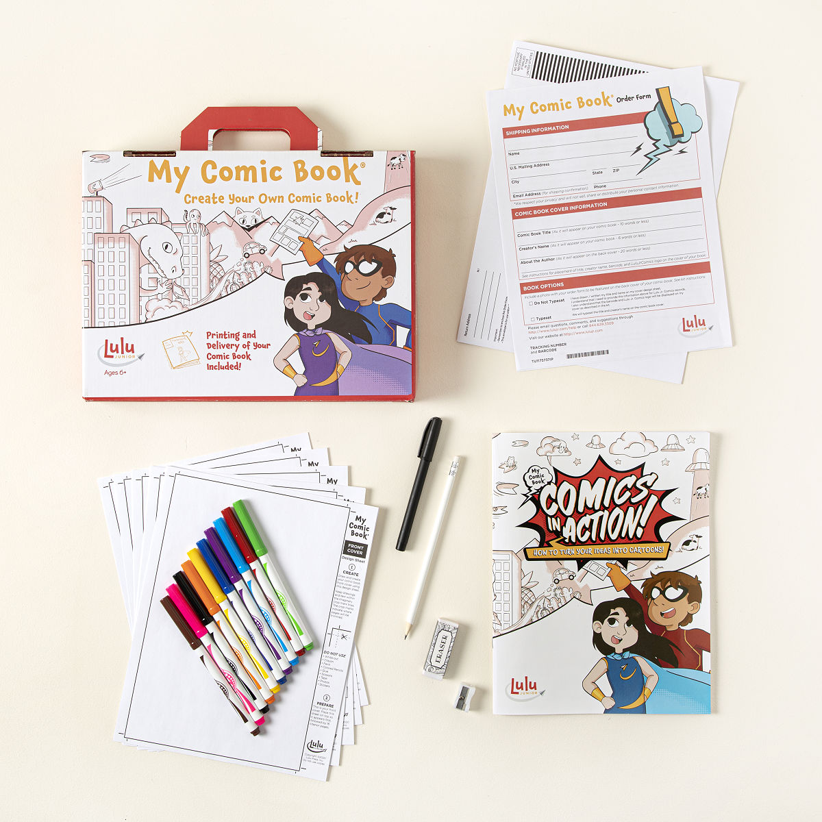 Craft kit for kids - My Comic Book Kit
